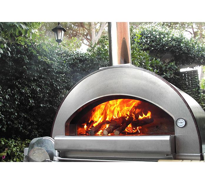 Forno a Legna Alfa Pizza, Modello 4Pizze rame | Brico Edile